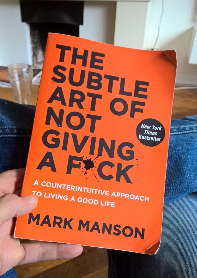 Book - subtle art of not giving